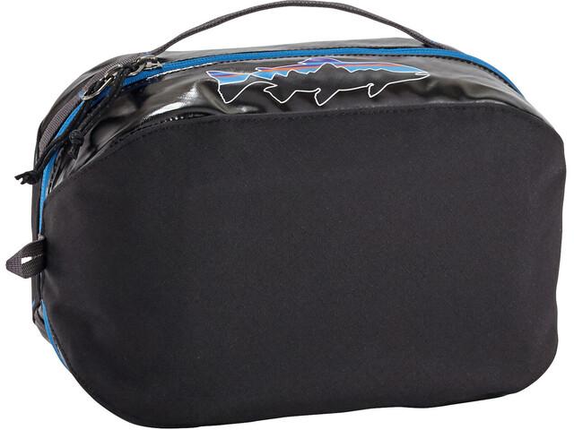 Patagonia Black Hole Cube Toiletry Bag Medium black w/fitz trout